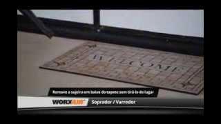 WORX - Dicas de uso para o Soprador Varredor WORXAIR WG545
