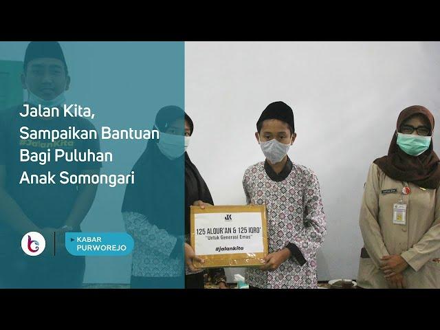 Jalan Kita, Sampaikan Bantuan Bagi Puluhan Anak Somongari