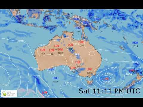 New Zealand Weather Map.New Zealand And Australia Weather Forecast Hd 22 Nov 2018 Updated