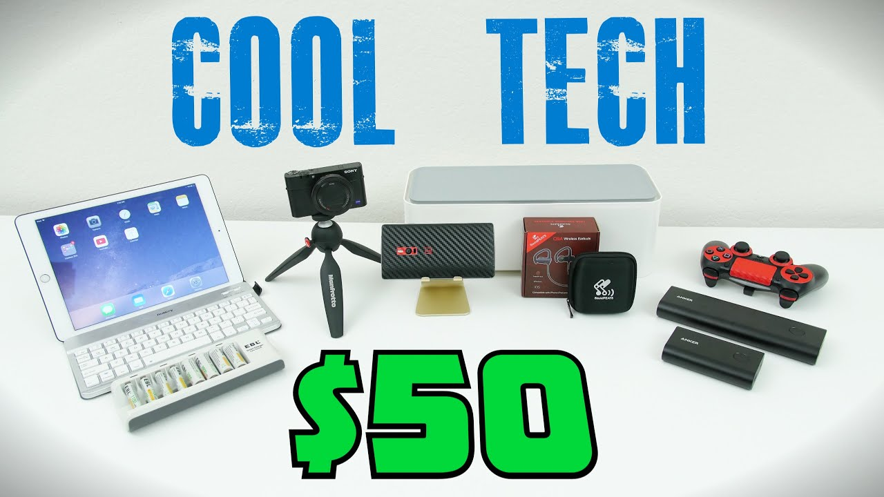cool tech under 50 december youtube