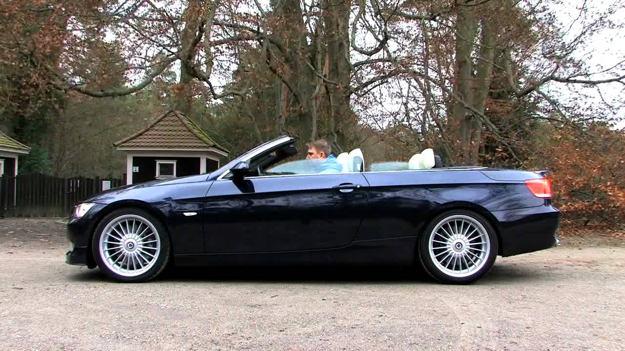 alpina b3 cabrio gebraucht mit 360 ps youtube. Black Bedroom Furniture Sets. Home Design Ideas