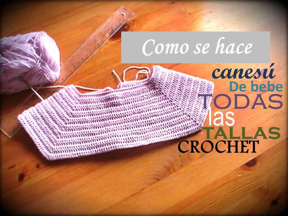 Como se hace un canesú rectangular para bebe a crochet TODAS LAS ...