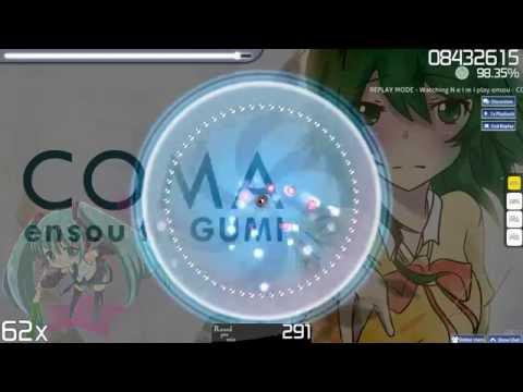 [Osu!] ensou feat. GUMI Megpoid - COMA [Insane]