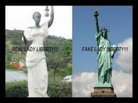 The Original Image Of The Statue Of Liberty Was Supposed To Be A Face Of Color