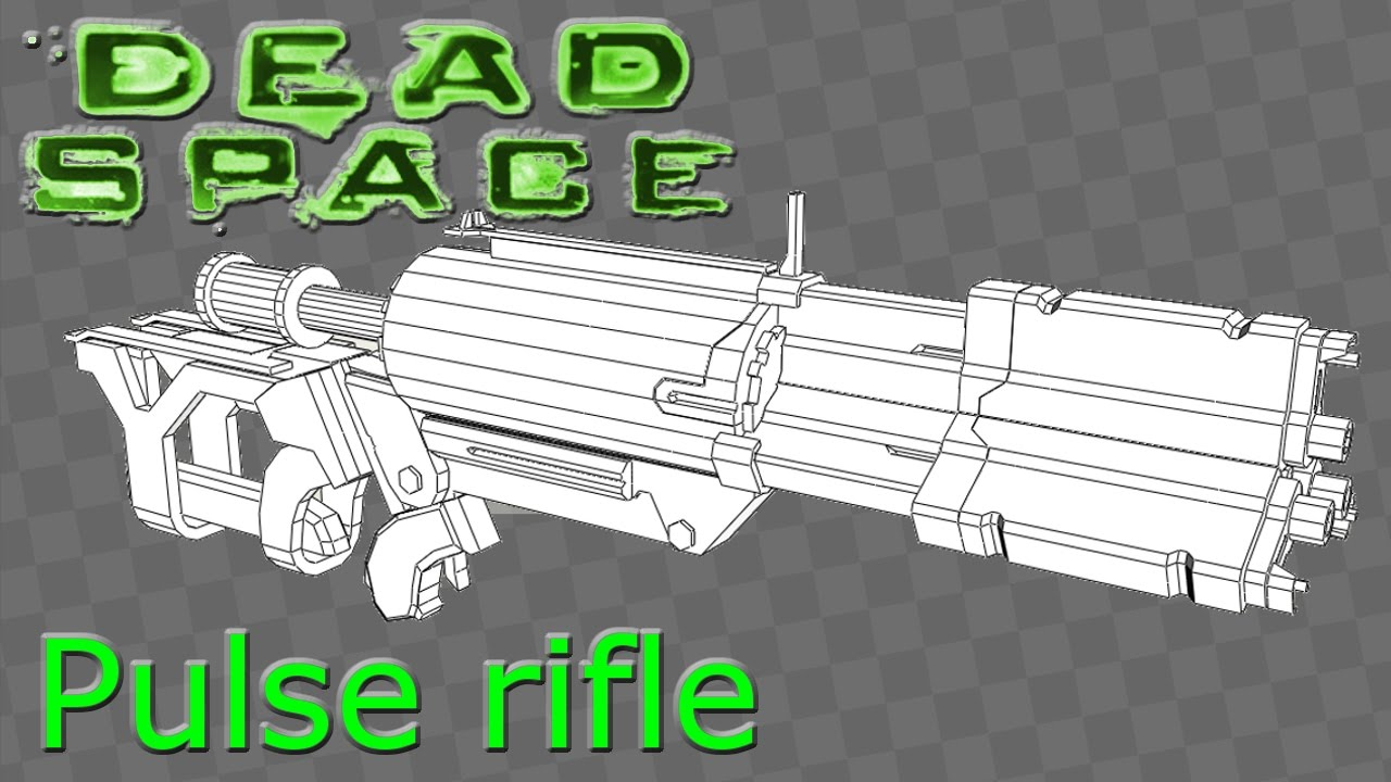 Dead Space 3 Rifle Dead space pulse rifle...