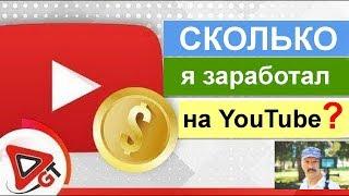 #ЗАРАБОТОК с партнёркой GTRussia // Сколько я заработал на YouTube за год?