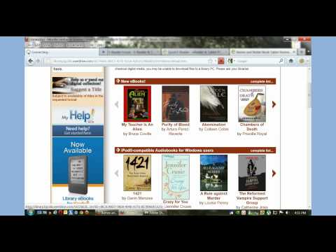 How to Borrow Overdrive Library eBooks on your Nook Tablet