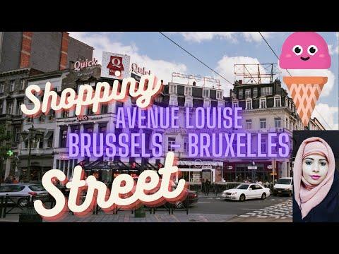 Avenue Louise - Brussels - Shopping Street