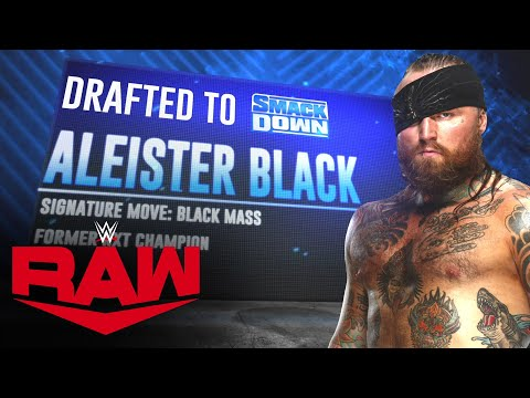 Aleister Black swaps brands as 2020 WWE Draft concludes: Raw, Oct. 12, 2020