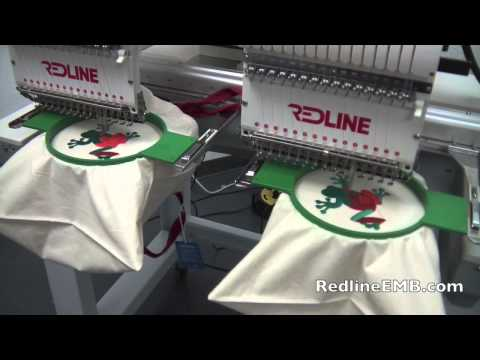 redline embroidery machine