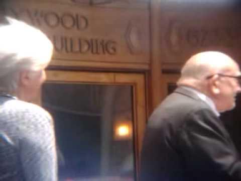 5/24/13 HOLLYWOOD LEGEND, ED ASNER, SPEAKS ON BEHALF of OLYMPIA DUKAKIS, HOLLYWOOD STAR CEREMONY