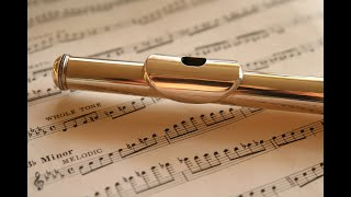 Greensleeves, free flute sheet music score
