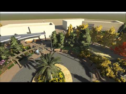 LANDSCAPE DESIGN PROJECT IN HASHEMITE UNIVERSITY