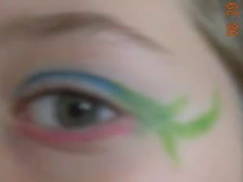Masquerade Make up by me!!!