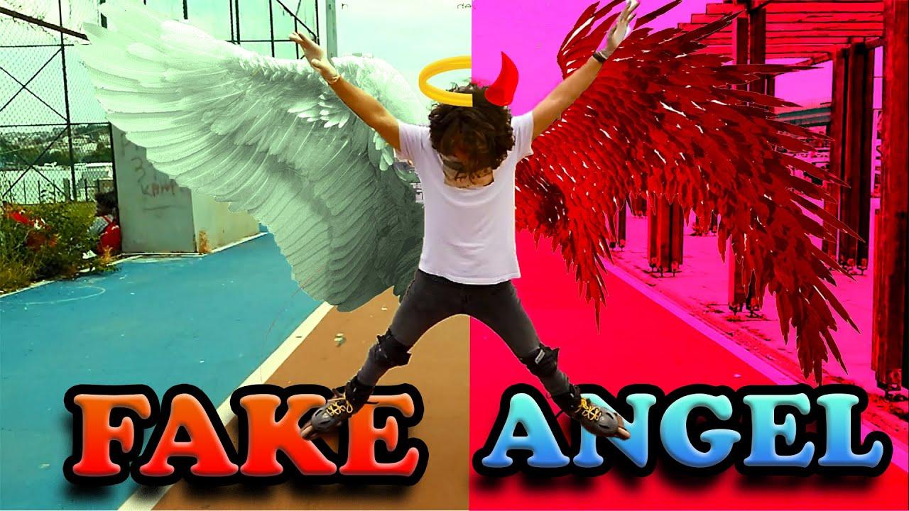 FAKE ANGEL NASIL YAPILIR ?  ( Paten Kayma Dersleri )