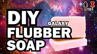 DIY Galaxy Flubber Soap - Man Vs Pin - Pinterest Test #72
