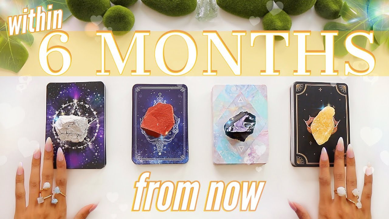 🔮(pick twice)🔮6 MONTHS From Now: Love, Career, Family & Money💰📬💡✨(Pick A Card)✨Tarot Reading✨