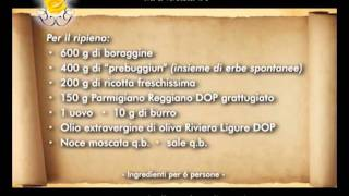 "Genova Gourmet, Manuelina, Video Ricetta ""pansotti Alla Salsa Di Noci"""