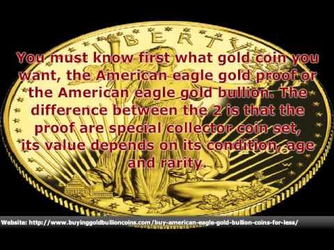 American Eagle Gold Bullion Coin Basics