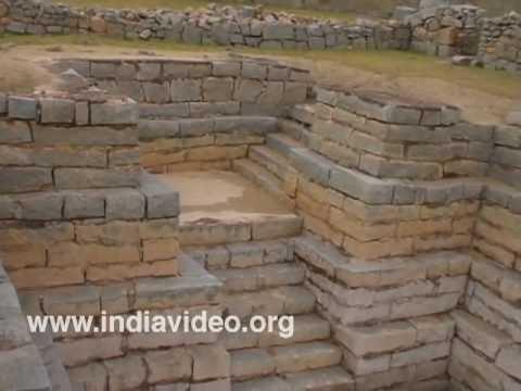 Mint and Mosque at Hampi ruins