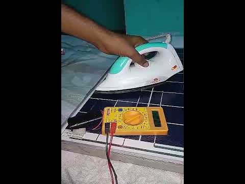 Solar panel & iron box what happens next??  Experimental results