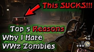 Top 5 Things I Hate About Call of Duty WW2 Zombies