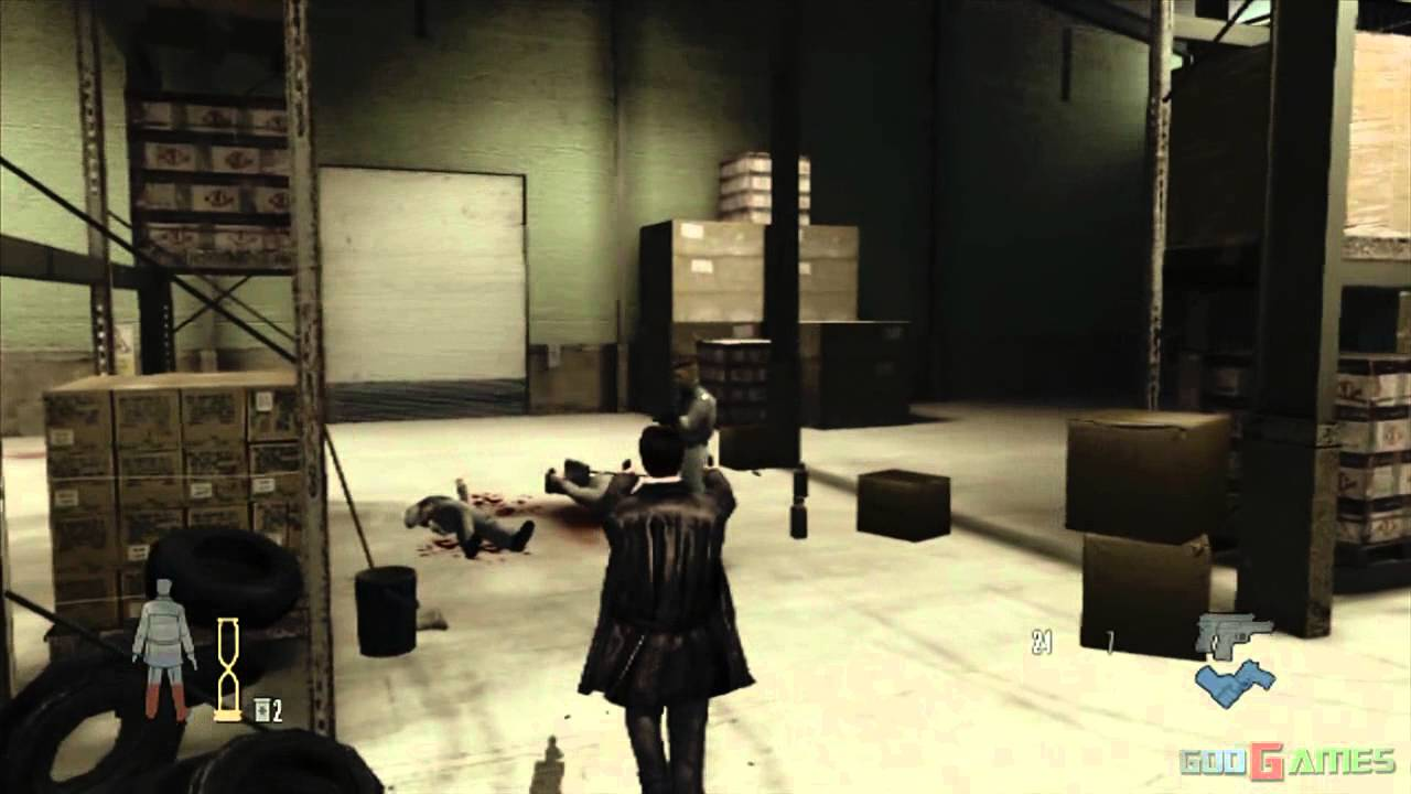 Max Payne 2 The Fall Of Max Payne Gameplay Xbox Hd 720p Youtube