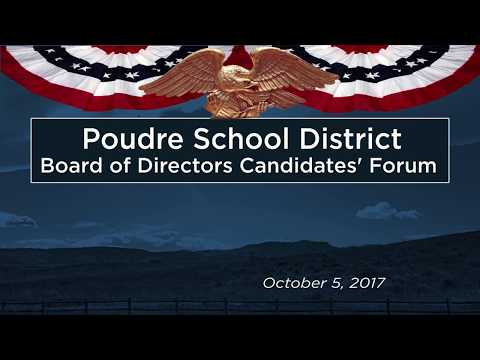 PSD Board of Directors Candidates' Forum 10/5/17