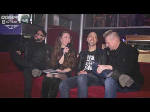 (DE/RU subs) 2017-03-28 Interview with Oomph! RePublic Club, Minsk, Belarus