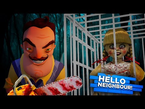Minecraft HELLO NEIGHBOR - THE NEIGHBOR HAS KIDNAPPED THE EV