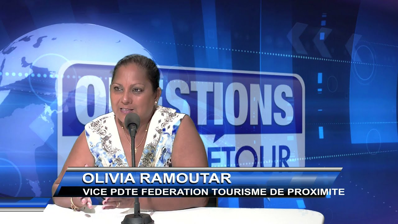Olivia RAMOUTAR Vice Présidente de la Fédération du tourisme de proximité de la Guadeloupe