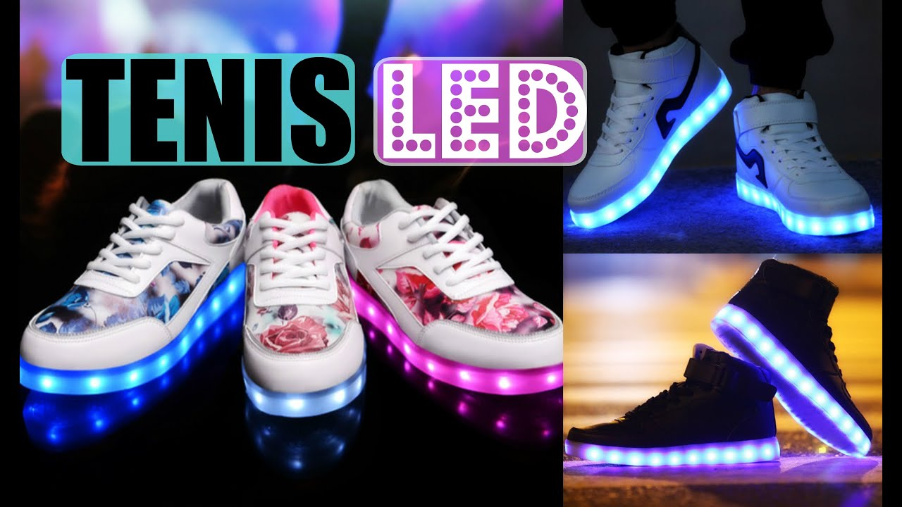 DIY TENIS LED   Light Up Shoes   Mirianny   YouTube