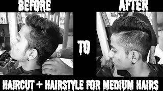 Hairstyle For Medium Hair - Boys 2018 - Men