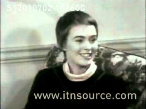 Otto Preminger and Actress Jean Seberg  interviewed