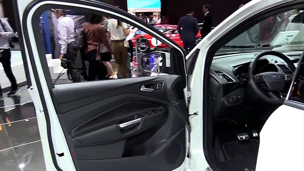 2018 Ford Kuga Stline Sc Fullsys Features New Design Exterior