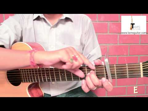 3 chords hindi songguitar lesson for absolute beginners-Give me some sunshine-Easy