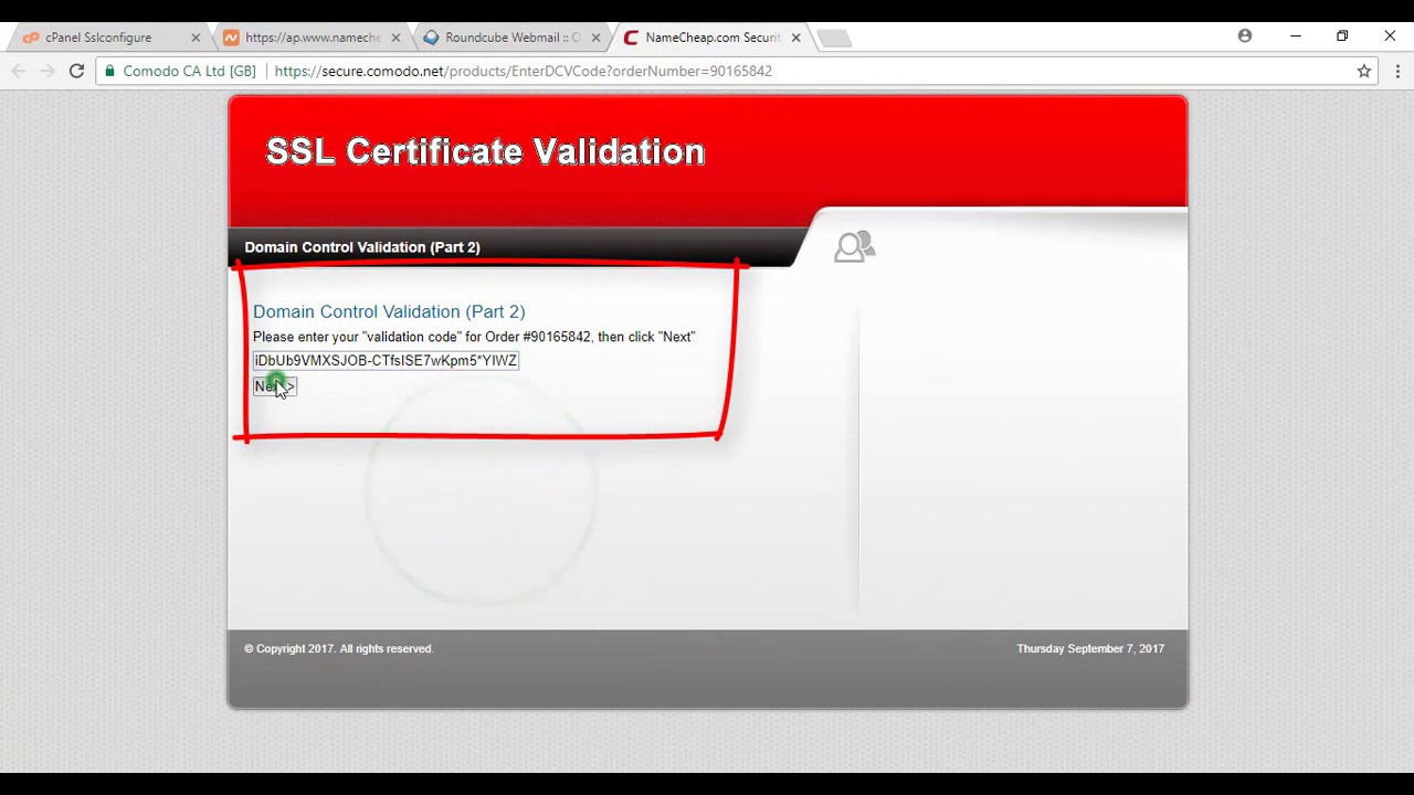 How Do I Activate An Ssl Certificate Youtube