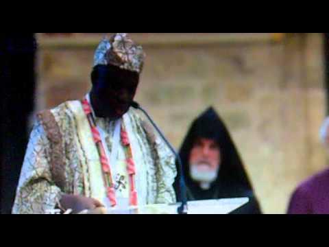 Rito Ifá ante Benedicto XVI en Asís