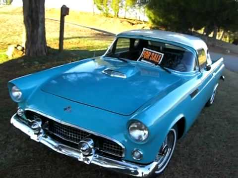 1955 ford thunderbird shay replica for sale youtube. Black Bedroom Furniture Sets. Home Design Ideas