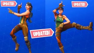 FORTNITE ALL NEW UPDATED DANCES AND EMOTES WITH FACIAL EXPRESSIONS! DISCO FEVER, TAKE THE L, FRESH