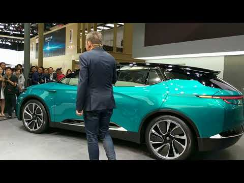 BYTON automotive's press conference at the Beijing Auto Show, April, 25th, 2018