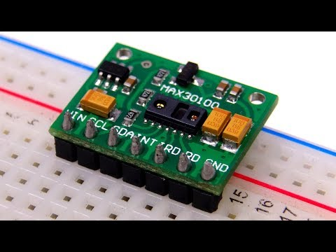 MAX30100 - сенсор для пульсоксиметрии