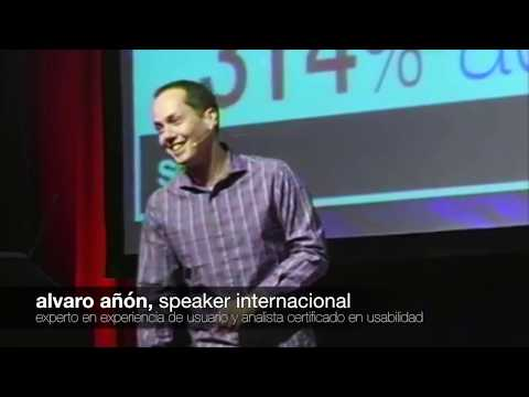 Speaker Internacional Usabilidad UX Conversiones Alvaro Añon Soho