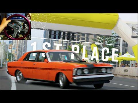 Forza Horizon 3 GoPro LP Ep3 -4 Door Ford Falcon! - Race BLUEPRINTS!