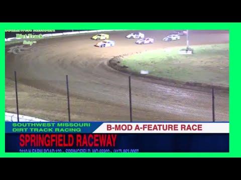 B MOD A Feature Races Springfield Raceway September 2, 2017