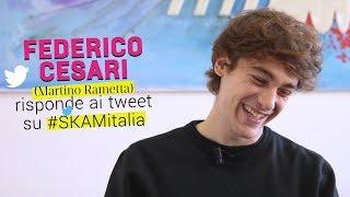 #SKAMItalia Federico Cesari (Martino Rametta) risponde ai tweet dei fan