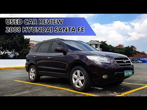 2008 Hyundai Santa fe diesel in depth tour/review (philippines)
