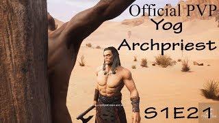 Conan Exiles Yog Archpriest on PVP Official S1E21