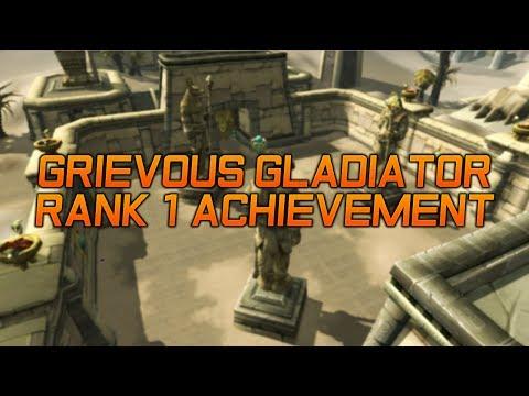 Grievous Gladiator Rank One Fire Play