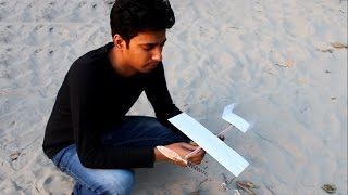 ✓How to Make a Rubber band plane Out of paper – Very Easy And Effective Airplane.